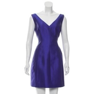 NWT Kate Spade blue silk mini cocktail dress 6